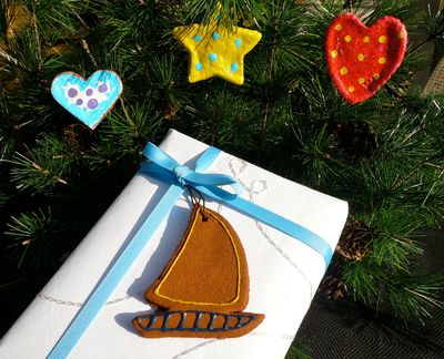 Aromatic decorations are made of cinnamon and applesauce.King Features (King Features)