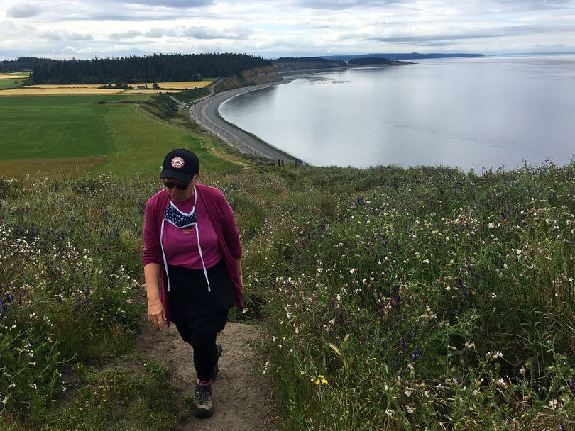 The Bluff Hike at Ebey's Landing National Historical Reserve is one of the best coastal trails in all of Washington state. (John Nelson)