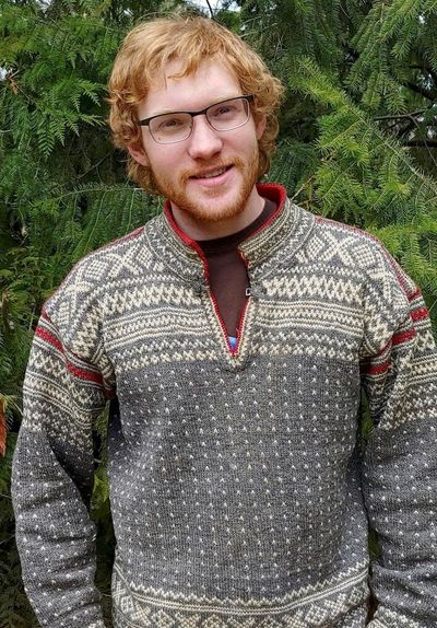 Peik Lund-Andersen, a junior from the University of Idaho, has received a scholarship from the Barry Goldwater Scholarship and Excellence in Education Foundation as he researches how susceptible certain animal species are to COVID-19.  (Courtesy of the University of Idaho)