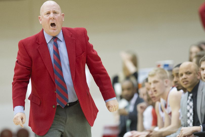 Eastern head coach Jim Hayford and his men's basketball team open the season on Friday against Mississippi State. (Tyler Tjomsland / The Spokesman-Review)