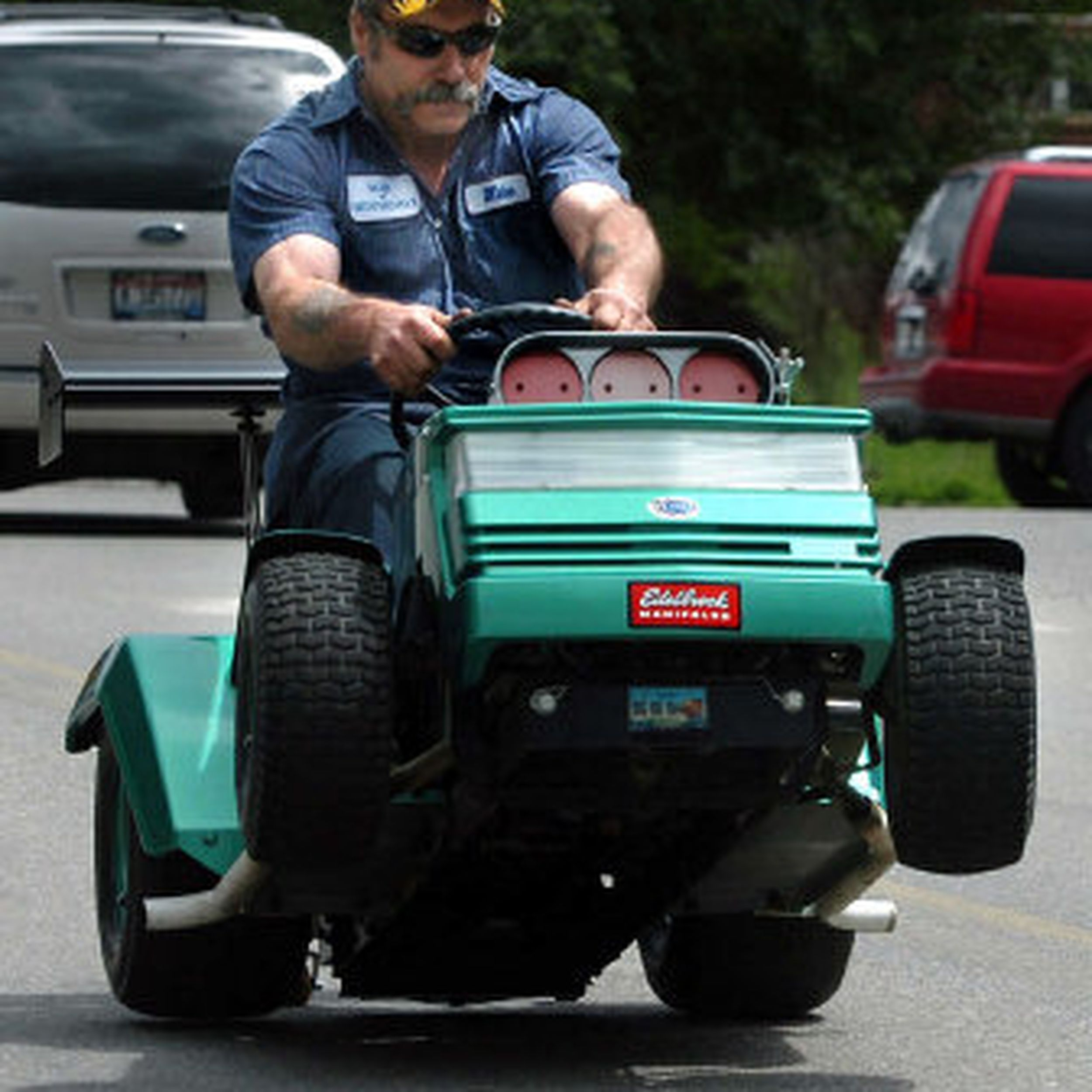 Modified Mowers Ready To Roar For Spirit Lake Fundraiser The Spokesman Review