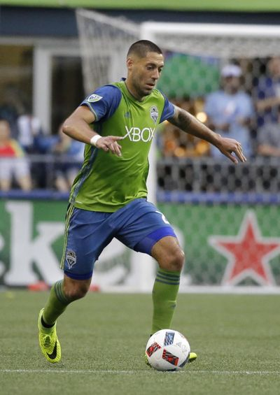 Sounders are optimistic Clint Dempsey will return to play soon. Dempsey has missed two league games due to an irregular heartbeat scare. (Ted S. Warren / Associated Press)