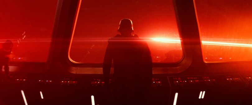 This photo provided by Disney/Lucasfilm shows a scene from the new film,