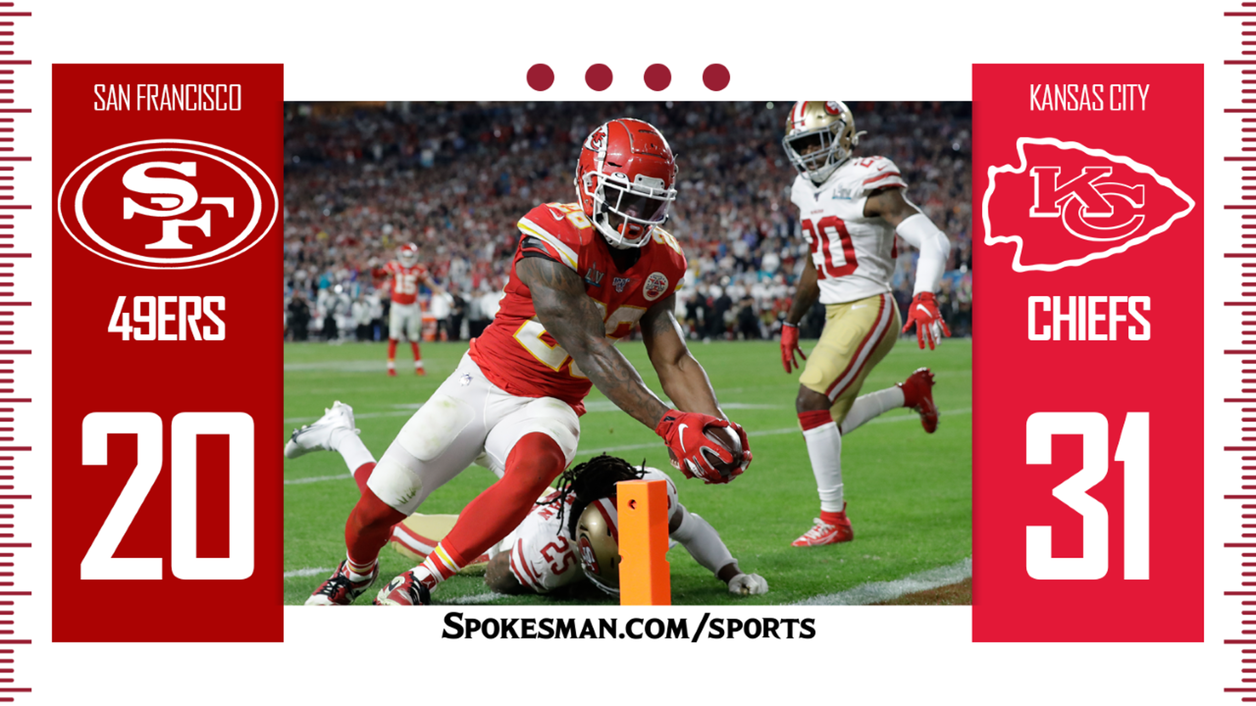 Patrick Mahomes Leads Chiefs Rally Past 49ers In Super Bowl 31 20 The Spokesman Review