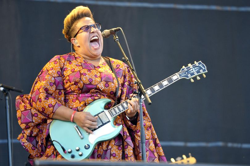 Brittany Howard of Alabama Shakes performs at Lollapalooza in Chicago on July 31. Alabama Shakes released their second album,