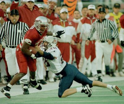 Torey Hunter played defensive back for Washington State during the early 1990s.  (FILE)