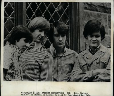 The Monkees Davy Jones, Peter Tork, Mike Nesmith, Micky Dolenz (Raybert Productions Inc.)