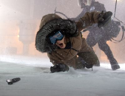 """Kate Beckinsale stars in the thriller, """"Whiteout."""" Warner Bros. (Warner Bros. / The Spokesman-Review)"""