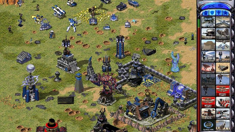 Command and Conquer: Red Alert 2 took the grounded approach to an alternate history and added camp, as well as mind-altering capabilities for its heroes. (Planetagracza)