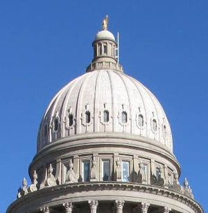 Idaho state Capitol dome (Betsy Z. Russell)