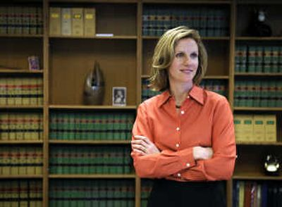 Judge Debra Stephens, 42, was recently appointed the newest justice to the Washington State Supreme Court.   (Dan Pelle / The Spokesman-Review)