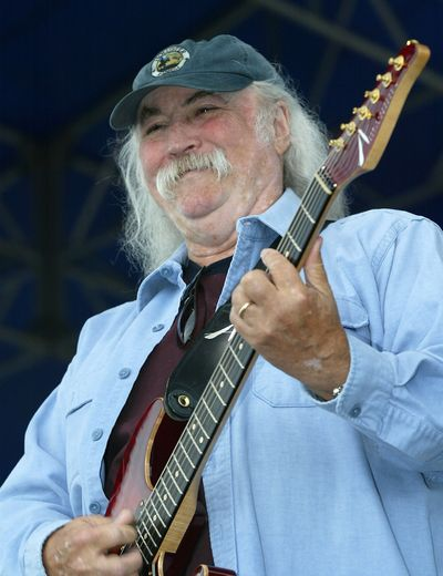 David Crosby, pictured, joins Stephen Stills and Graham Nash for a Sept. 15 show at Northern Quest Casino. (Associated Press)