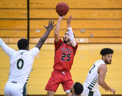 Eastern Washington guard Mike Meadows is averaging 16.3 points per game during seven contests – all wins – this month.  (Dan Pelle/The Spokesman-Review)