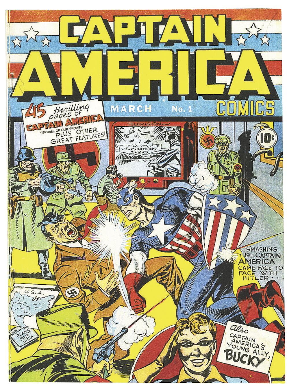 A Super American Captain America Turns 80 The Spokesman Review