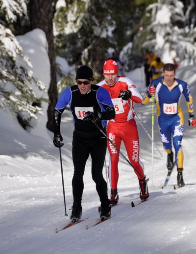 Langlauf is a classic ski event. (Rich Landers)