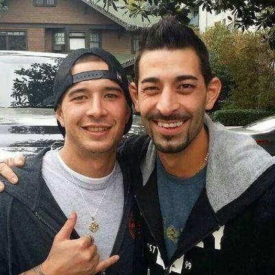 Brothers Jake Harris (left) and Josh Harris (right) in 2014. (Josh Harris Facebook)