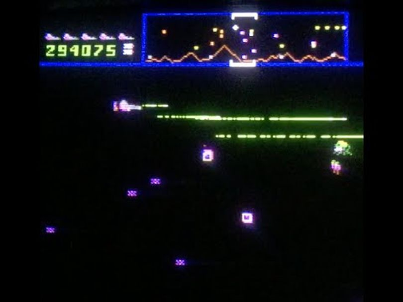 Defender brought side-scrolling gameplay to arcades for the first time in February 1981.