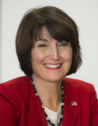 FILE - Rep. Cathy McMorris Rodgers is making the final push for a tax plan analysts say could add more than $1 trillion to the federal budget deficit. McMorris Rodgers said the plan will spur growth and return more money to American taxpayers. (Dan Pelle / The Spokesman-Review)