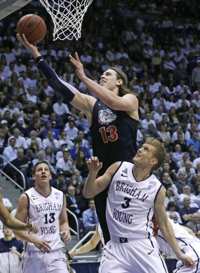 Gonzaga big man Kelly Olynyk was named the WCC player of the year on Tuesday. (Associated Press)