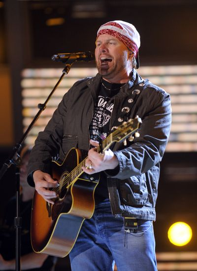 Toby Keith (Associated Press / The Spokesman-Review)