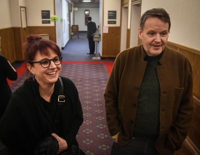 The jury found in favor for Shanda and Alan Shepherd of  Rocket Market against some of their neighbors, Thursday, Feb. 28, 2019, at the Spokane County Courthouse. Neighbors filed suit because of noise issues during summer outdoor concerts at the store and cafe. (Dan Pelle / The Spokesman-Review)