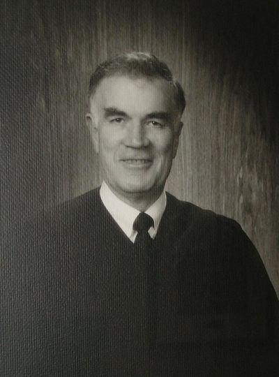 Former Idaho Supreme Court Chief Justice Charles F. McDevitt, of Boise, died Saturday at the age of 89.  (Courtesy)