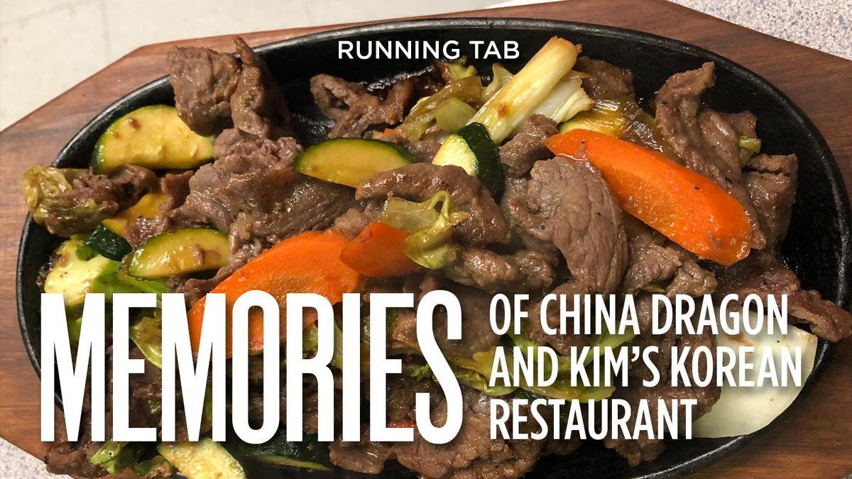 2020 Christmas Open China Dragon Buffet Gonzaga memories of China Dragon, Kim's Korean Restaurant in