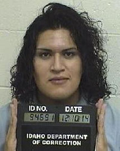 This Dec. 10, 2014, photo provided by the Idaho Department of Correction shows Adree Edmo. A federal appellate court will hear arguments Thursday, May 16, 2019, in a lawsuit brought by Edmo, a transgender Idaho inmate, who says the state is wrongly denying her gender confirmation surgery. (Idaho Department of Correction)