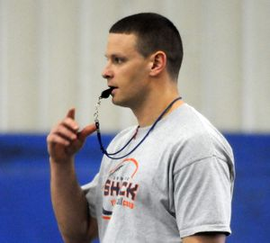 Spokane Shock coach Rob Keefe says his team should be able to handle the Kansas City Command on Saturday night.  (Dan Pelle)
