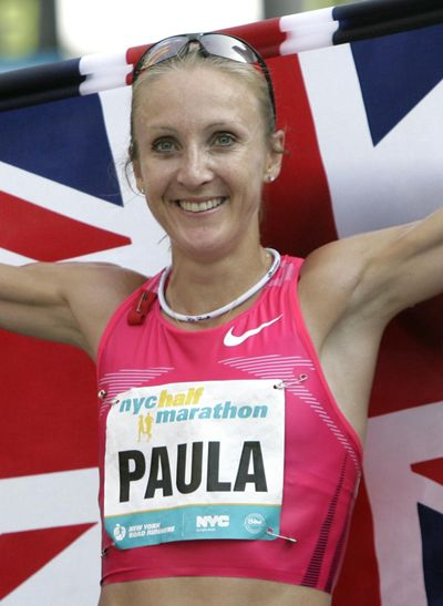 Paula Radcliffe claims that her comments about Caster Semenya have been misrepresented. (Seth Wenig / Associated Press)