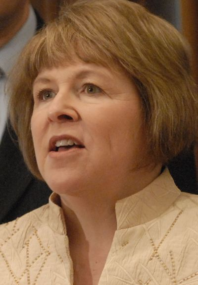 Senate Majority Leader Lisa Brown, a Spokane Democrat,  said at the Capitol on Thursday that the debate about tax reform will continue.  (RICHARD ROESLER / The Spokesman-Review)