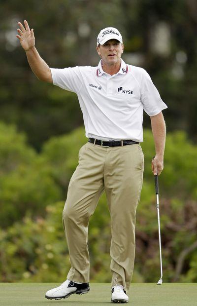 Steve Stricker opens a new PGA season with a win in Hawaii. (Associated Press)
