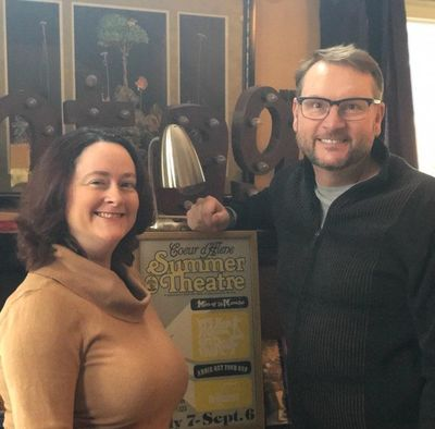 """With Tracey Vaughan and Stu Cabe at the helm, the Coeur d'Alene Summer Theatre will produce """"Beauty and the Beast"""" from June 13-30; """"Oklahoma"""" from July 11-28; and """"Smokey Joes' Café"""" from Aug. 8-25."""