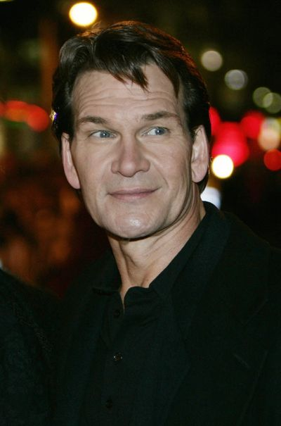 Patrick Swayze, shown here in 2005, has died, his publicist said Monday, Sept. 14, 2009. (Associated Press)