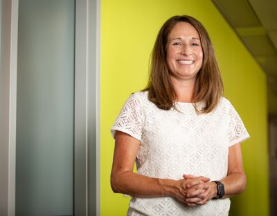 Greater Spokane Incorporated CEO Alisha Benson has been with the agency for more than 12 years, including two times as interim CEO, before formally stepping into the role in September 2019.  (Libby Kamrowski/ THE SPOKESMAN-REVIEW)