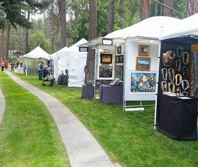 The Little Spokane River Artist Studio Tour will feature works by 48 artists this year.  (Courtesy)