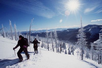 The Kettle Crest region north and south of Sherman Pass, popular for recreation during all four seasons, has several roadless areas generating controversy.  (Rich Landers / The Spokesman-Review)