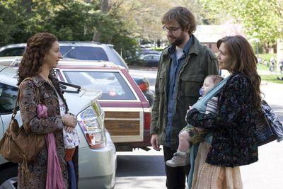 "Maya Rudolph, John Krasinski and Maggie Gyllenhaal in ""Away We Go."" Focus Features (Focus Features / The Spokesman-Review)"
