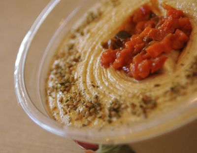 Sabra Dipping Co. on Monday, Nov. 21, 2016, announced it is voluntarily recalling Sabra hummus sold in the U.S. and Canada with a a Best Before date of Jan. 23, 2017, or earlier due to a possible Listeria contamination. (Patrick Kane / AP)