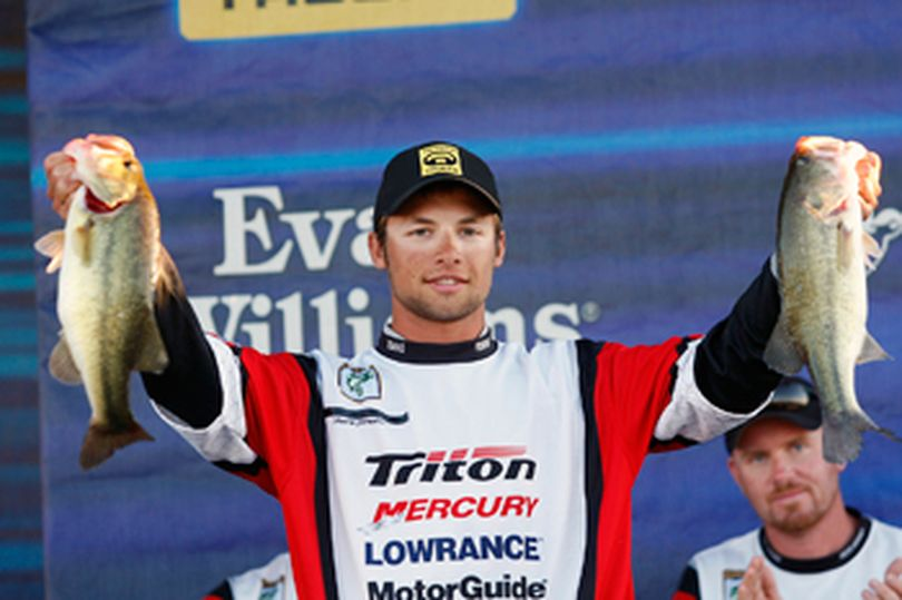 Brandon Palaniuk earned a spot in the 2011 Bassmasters Classic by winning the BASS Federation Nation Championship at Louisiana's Red River in October 2010. (ESPN)