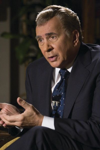 """Frank Langella portrays Richard Nixon in """"Frost/Nixon."""" Langella was nominated for an Academy Award for best actor for the role. Universal Pictures (Universal Pictures / The Spokesman-Review)"""