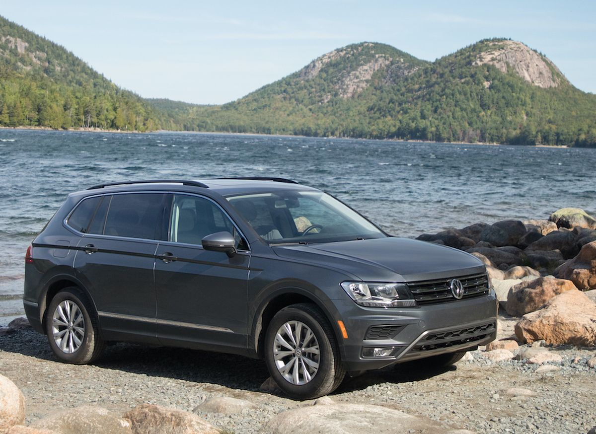 2020 Volkswagen Tiguan Compact Cuv Impresses With Subtle And Refined Interior The Spokesman Review