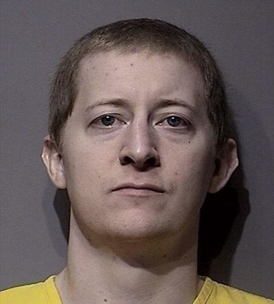 Kyle A. Odom, shown here in his booking photo, has pleaded guilty to the March 6, 2016, shooting of Coeur d'Alene pastor Tim Remington. Remington suffered six gunshot wounds and continues to recover. (Courtesy of Kootenai County Jail)