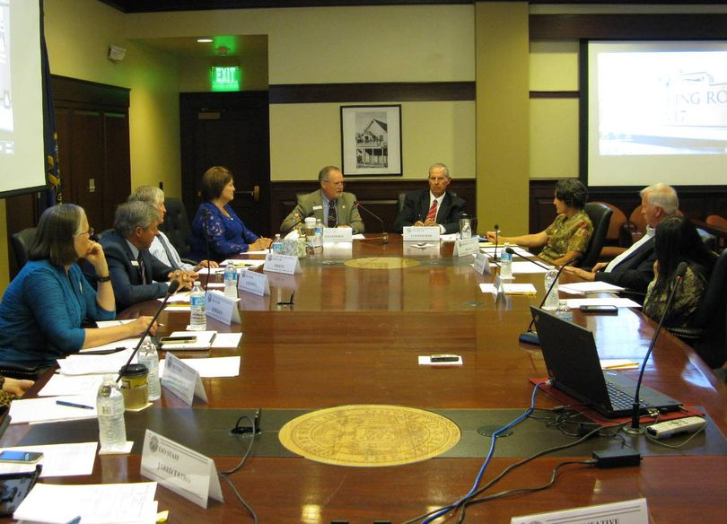 Idaho Legislature's interim working group on the state's health coverage gap convenes its first meeting on Wednesday at the state Capitol (Betsy Z. Russell)