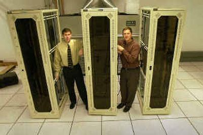 Steve Tabacek, left, and Ben Cozza of IT-Lifeline in Liberty Lake are ready to provide secure and reliable data backup. Steve Tabacek, left, and Ben Cozza of IT-Lifeline in Liberty Lake are ready to provide secure and reliable data backup.   (Brian Plonka/Brian Plonka/ / The Spokesman-Review)