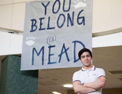 Mead High School senior Azizullah Moltafet didn't speak a word of English when he arrived in Spokane in 2012. (Tyler Tjomsland / The Spokesman-Review)