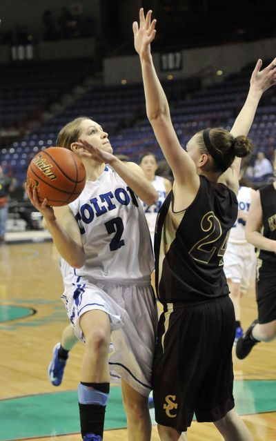 Jenna Moser of Colton is one of the Region stars to face GSL tonight. (Jesse Tinsley)