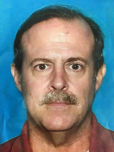 This undated photo provided by the Houston Police Department shows Joseph James Pappas. Authorities on Wednesday, Aug. 1, 2018, identified a man who they believe gunned down one of former President George H.W. Bush's doctors last month as Pappas, the son of a woman who died while the doctor was operating on her more than 20 years ago. (Associated Press)