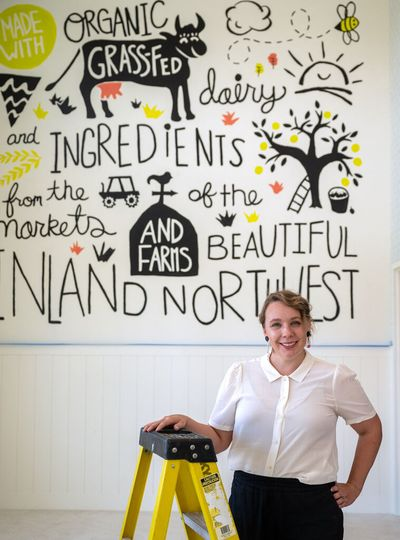 Annie Stranger is opening Sweet Annie's Artisan Creamery at 1948 N. Harvest Parkway in Liberty Lake.  (Colin Mulvany/THE SPOKESMAN-REVIEW)