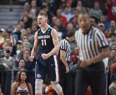 Domantas Sabonis helped lead Gonzaga to an Elite 8 and Sweet 16 appearance in his two seasons with the Bulldogs. (Dan Pelle / The Spokesman-Review)